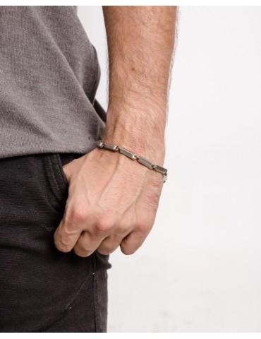 Raul silver chain bracelet