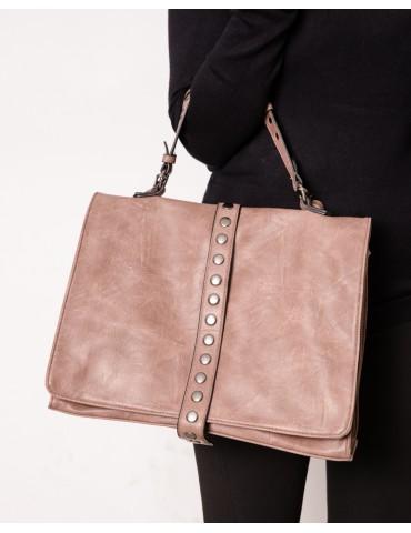 Dorina brown studded bag