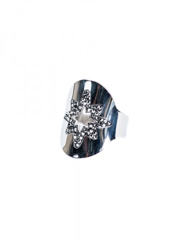 Stellina silver ring