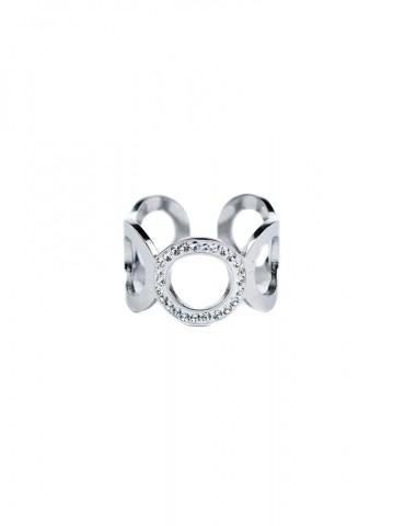 Vera silver ring