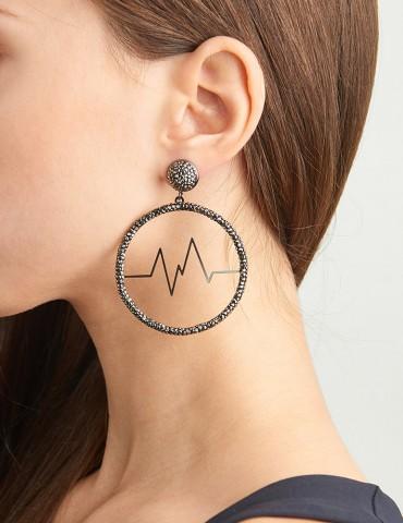 Ramona hoop earrings