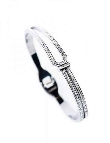Silvia silver cuff bracelet
