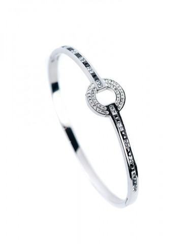 Οrella silver cuff bracelet