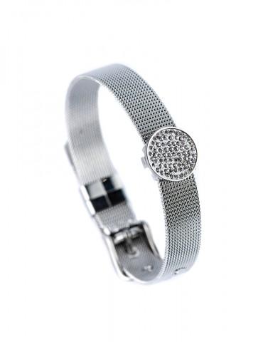 Ρrincessa silver cuff bracelet