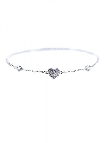 Carolina silver bracelet