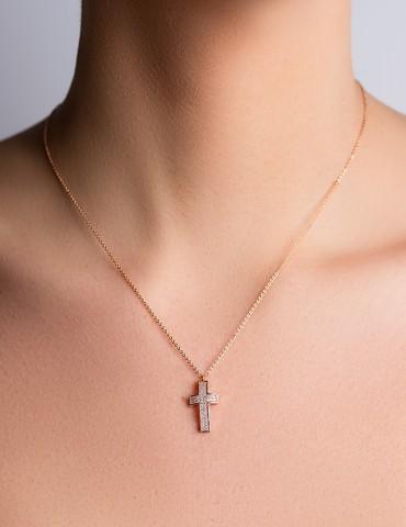 Κολιέ με σταυρό Dorine