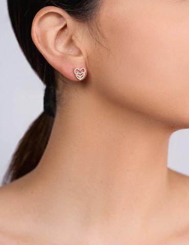 Denise silver earrings