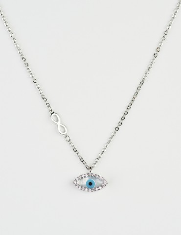 Leana evil eye necklace
