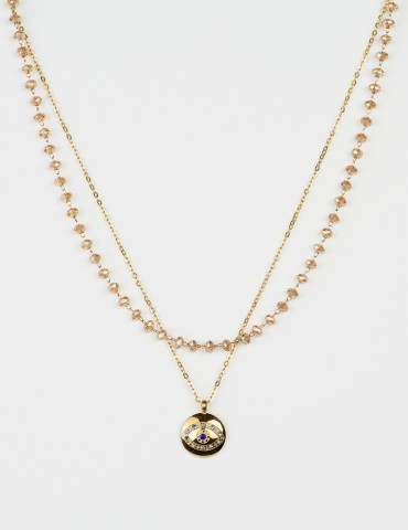 Goldia set of 2 necklaces