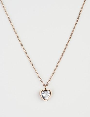 Ρrincessa heart necklace