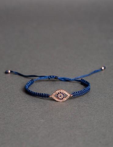Αdjustable blue bracelet...