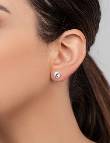 Μagda silver earrings