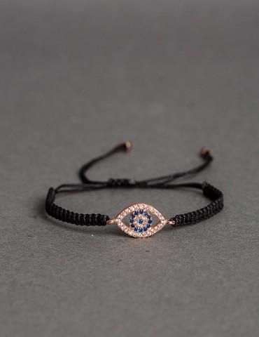 Μirabella black bracelet