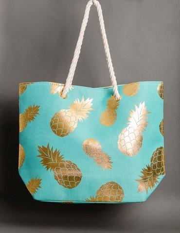 Υvette Τurquoise summer bag