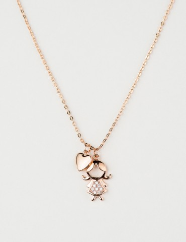Βambina rose girl necklace