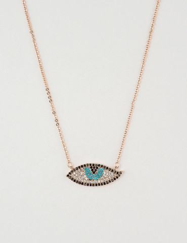 Νora rose evil eye necklace