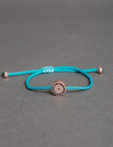 Αdjustable turquoise string...