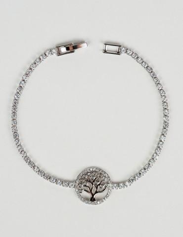 Αrbora silver bracelet