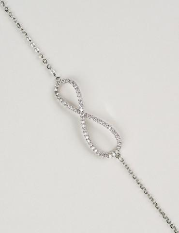 Εternity silver bracelet