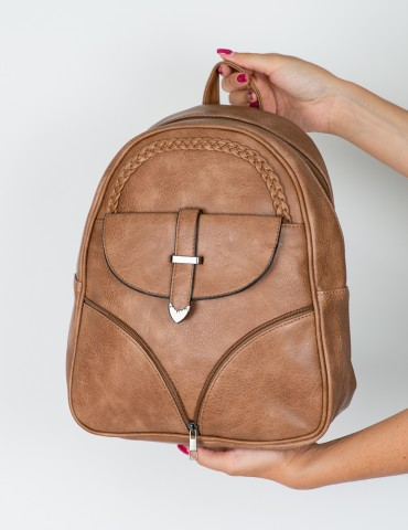 Anna Brown Backpack