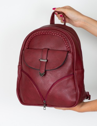 Anna Red Backpack