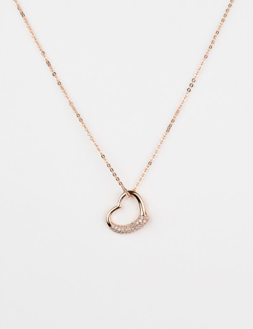 Valentina Rose Gold Necklace