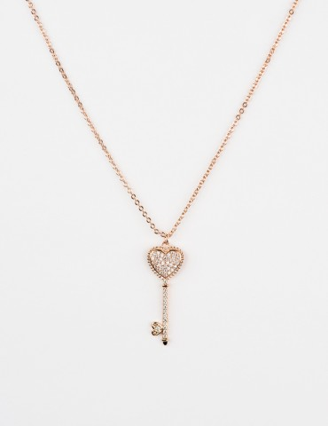 Loretta Rose Gold Necklace...