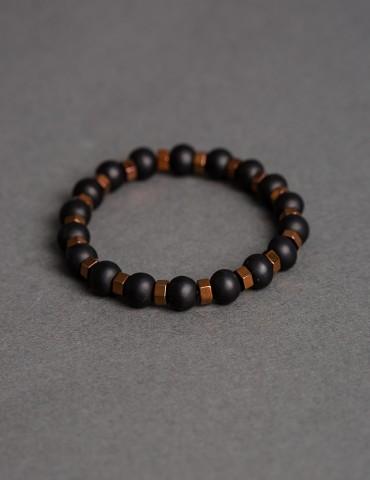 Βerto black bracelet