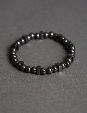 Roby hematite bracelet