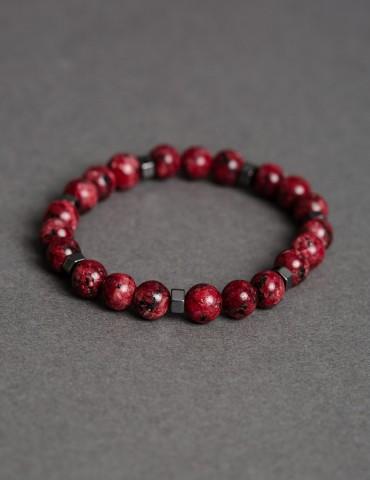 Ricardo red bracelet