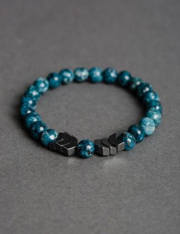 Αrrow turquoise bracelet