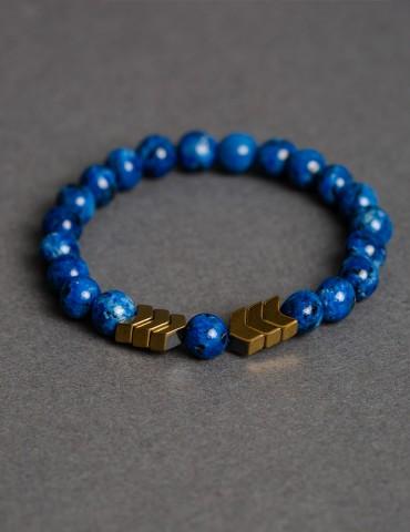 Royal Βlue bracelet with...