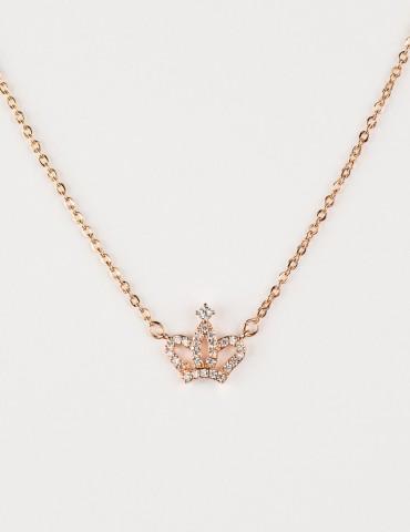 Ρrincess Rose Crown Νecklace