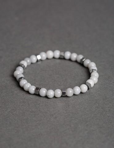 Βastian white bracelet