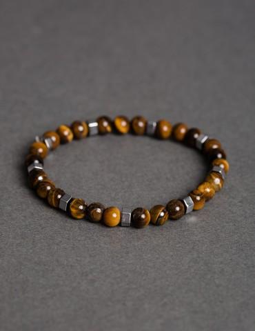 Τiger Εye thin bracelet...