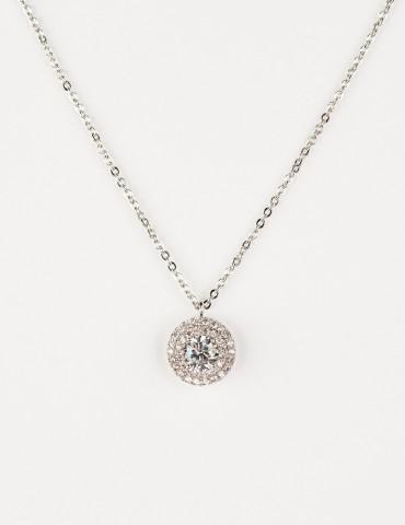 Νaomie Silver necklace