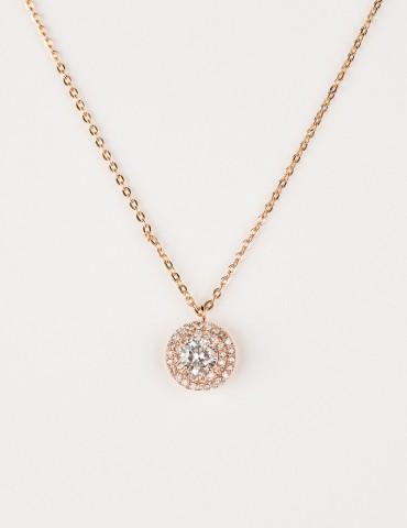 Νaomie Rose Gold Νecklace