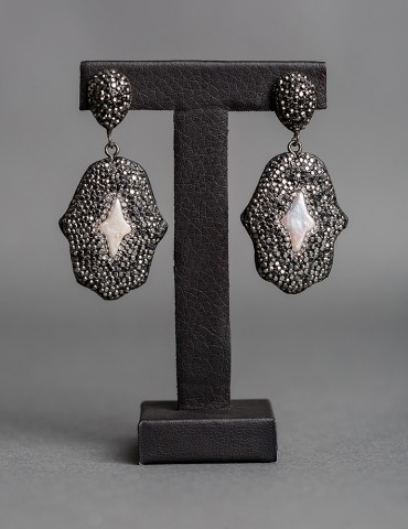 Drop earrings Ηamsa Ηand...