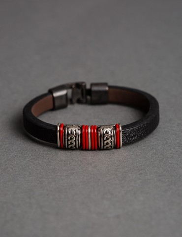 Αntonio leather bracelet