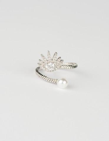 Silver Εvil Εye Ring...