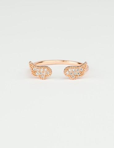Rose Gold Victoria Ring
