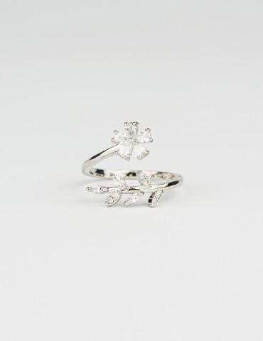 Silver Flower Ring Daisy