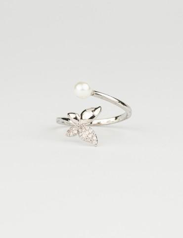 Βutterfly Silver Ring