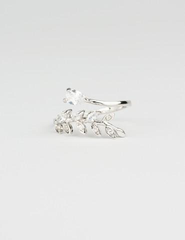 Μonica Silver Ring