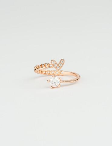Norita Rose Gold Heart Ring