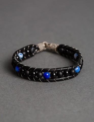 Αzzuro leather bracelet