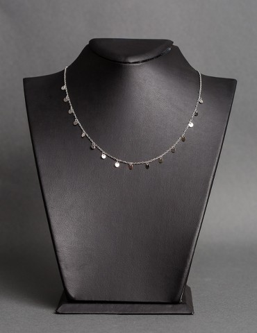 Silver necklace Ιvonne