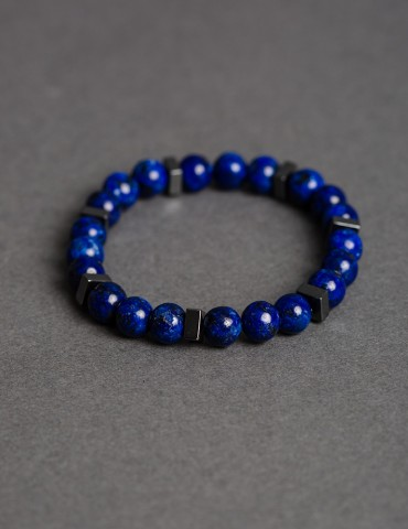 Royal blue bracelet with...