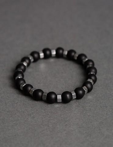 Fedele black silver bracelet