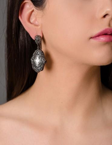 Drop earrings Ηamsa Ηand...